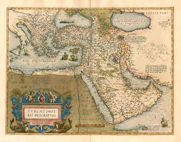 Ottoman Map Antique Map Of The Ottoman Empire By A Ortelius Sanderus