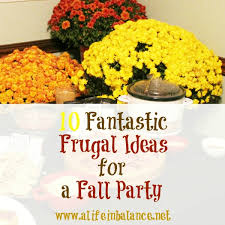 Fall Party Table Decorations - party ideas 10 fantastic frugal ideas