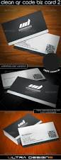 100 business card with qr code template stockpsd net u2013