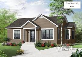 Large Bungalow Floor Plans House Plan W3114 Detail From Drummondhouseplans Com