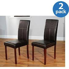 Leather Parson Dining Chairs Cheap Leather Dining Chair Find Leather Dining Chair Deals On