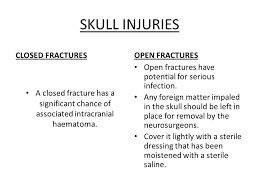 Lightly Definition Cross Section Head Injury Definition Any Injury That Results In