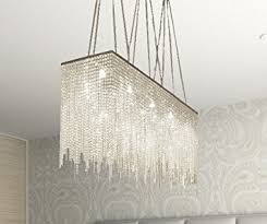 Contemporary Dining Room Chandelier 10 Light Modern Contemporary Dining Room Chandelier Rectangular
