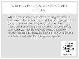 reasons why you should customize your cover letter hitecauto us