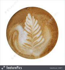 picture of coffee foam