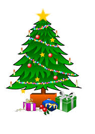 christmas tree and gifts clipart 13