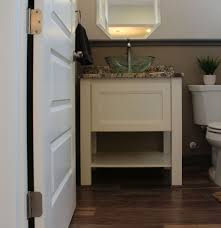 futuristic small powder room vanities with wall mounted