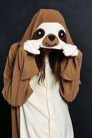 Sloth Animal Halloween Costume Kigurumi Sloth Costume Sloth Urban Outfitters Urban