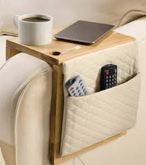 Armchair Remote Holder Creative Storage 8 Diy Sofa Caddies And Holders Shelterness