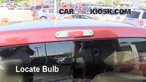 2008 ford f250 tail light bulb third brake light bulb change ford f 250 super duty 2008 2016
