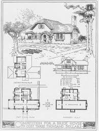100 turn of the century brick bungalows with floor plans