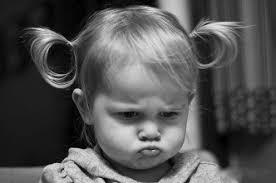 Little White Girl Meme - pouting little girl meme generator