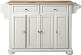 crosley alexandria kitchen island amazon com crosley furniture alexandria kitchen island with