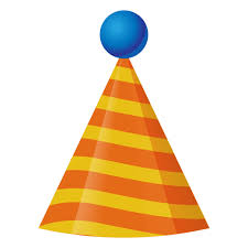 birthday hat 3d birthday hat icon transparent png svg vector