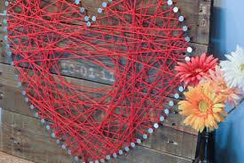 Pallet Wedding Decor Heart String Pallet Art Domesticated Engineer