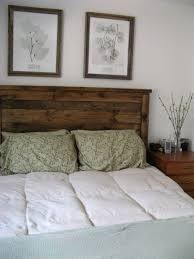 nice barnwood headboard style best home decor inspirations