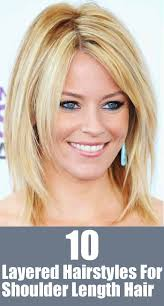 shoulder length hair with layers at bottom 20 great shoulder length layered hairstyles shoulder length