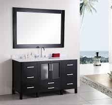 Modern Bathroom Furniture Design Element Stanton Single 60 Inch Modern Bathroom Vanity Set