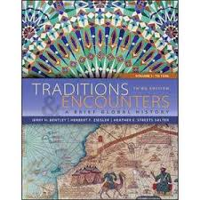 buy traditions encounters a brief global history volume 1 to