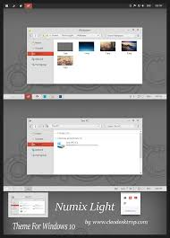 numix light theme windows 10 by cleodesktop on deviantart