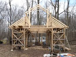Truss Spacing Pole Barn Make Your Own Bricks My Barn Construction Progress Update For 3 1 12