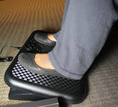 Under The Desk Foot Rest by Heated Footrest For Under Your Desk Or Table