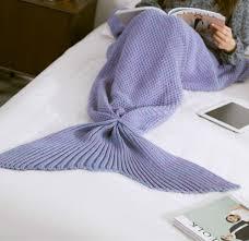 christmas gift mermaid tail blanket knit crochet mermaid blanke