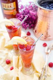 homemade raspberry iced tea recipe sugar u0026 soul