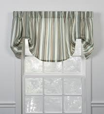 stripe print curtains window toppers