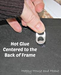 fix a broken picture frame picture hanger pop top picture hanger