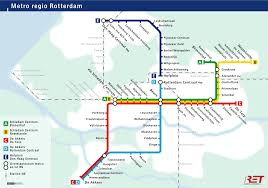 rotterdam netherlands metro map pin by will troch on co productie burwitju een algoritmische