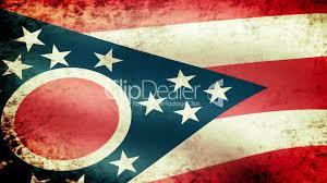 Ohios State Flag Ohio Flag Usa Map Guide 2016