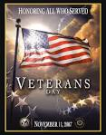 Claude A. Taylor Remembers Veterans Day November 11, 2007 poster.4teachers.org