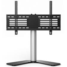 universal table top stand universal table top tv stand for 32 to 65 inch tvs with 25 degree
