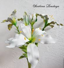white lillies a bouquet of white lilies of the skin interior arrangement shop