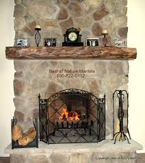 rustic wood mantels for fireplace popular home design amazing