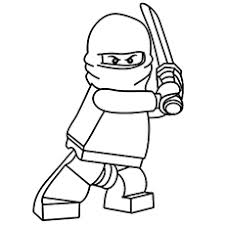 coloring pages ninjas coloring
