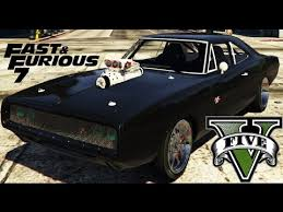 gta 5 dodge charger gta v mod dodge charger r t 1970 toretto s car in fast furious