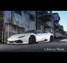 Lamborghini Huracan Liberty Walk - lb works lamborghini huracan version 1 full kit superwow factory