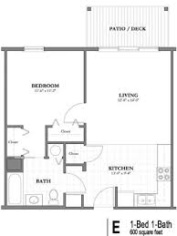 Simple House Plans 600 Square Decorating 600 Square Feet Westlake Senior Apartment Floor Plans