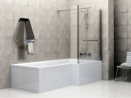 light grey and white bathroom love love love the mother of pearl