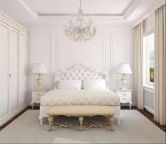 White Bedroom Grey Carpet Bedroom Tufted Bed White Bedding Set Nightstand Desk Lamp