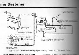 internal regulator alternator wiring diagram wiring wiring