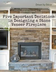 using stone veneer to build a mesmerizing how to stone veneer fireplace