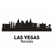 Home Decor Stores Las Vegas Aliexpress Com Buy Las Vegas City Decal Landmark Skyline Wall