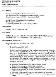 Veteran Resume Examples by Jack Cunningham