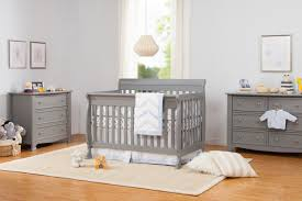 Davinci Kalani Changing Table Davinci Kalani 4 In 1 Convertible Crib Grey Finish Babies R Us
