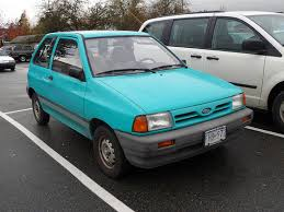 1993 ford festiva information and photos zombiedrive