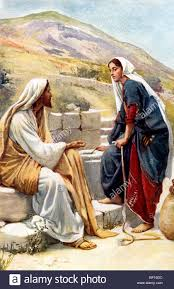 painting of the woman of samaria which shows the samaritan woman