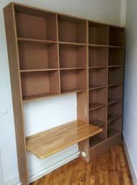 bureau discret un bureau discret et beaucoup de rangement bidouilles ikea pour